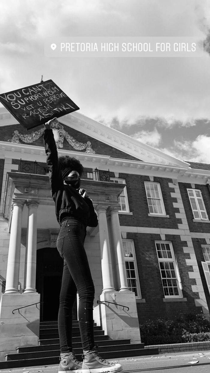 Betogings by Girls High oor diskriminasie in 2020 Girls