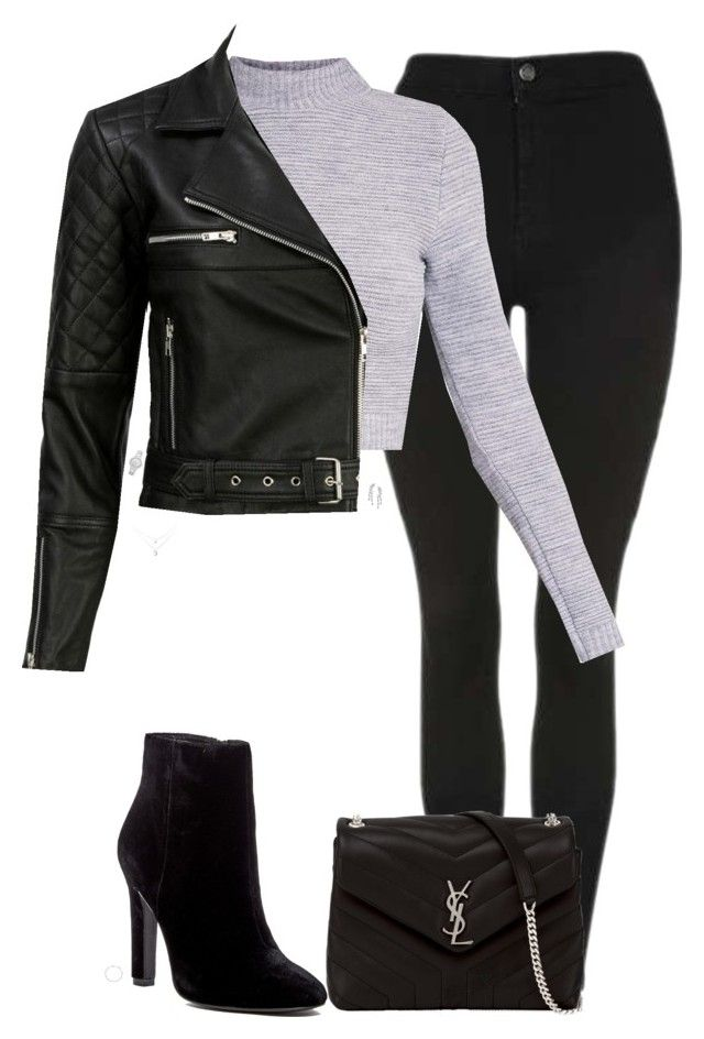 """""""Untitled #911"""" by bellax0x on Polyvore featuring Topshop, Yves Saint Laurent, VIPARO, Joie, Giani Bernini, INC International Concepts and MICHAEL Michael Kors"""