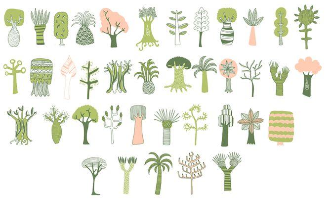 Kate Sutton #treesIllustrations Species, Katesutton Typepad Com, Illustration Trees, Art Inspiration, Trees3Jpg Jpeg, Trees Of Life, Kate Sutton, Trees'S 3 Jpg, Drawing Trees