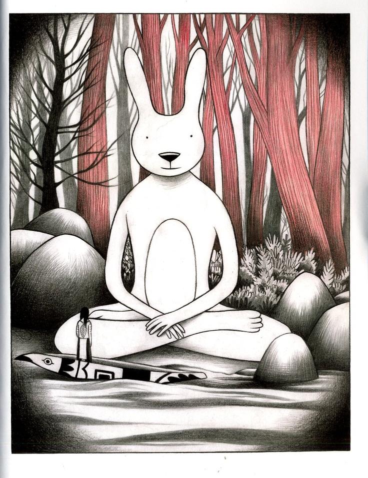 Buddha Bunny . . . By Gabriella Giandelli