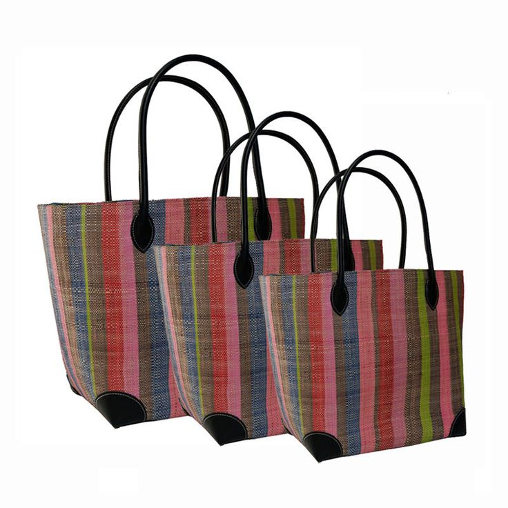 Multi Stripes #Baskets Online, The French Shoppe