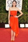 Premios Globo de Oro 2013. Marion Cotillard #celebritystyle #redcarpet