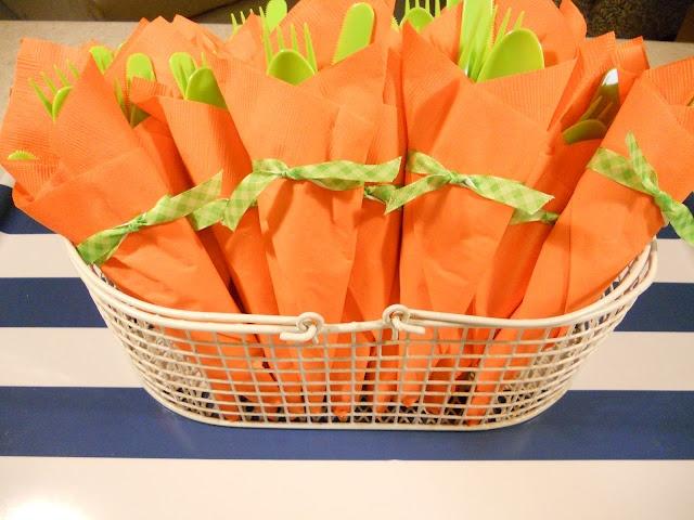 Carrot-inspired utensil packsUtensils Pack, Bright Ideas, Crafts Ideas, Creative Ideas, Diy Crafts, Carrots Inspiration Utensils, Crafts Items, Classroom Ideas, Easter Ideas
