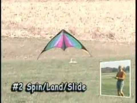 Dodd's 6 step Learning/Practice system for Dual Line Sport Kites - YouTube
