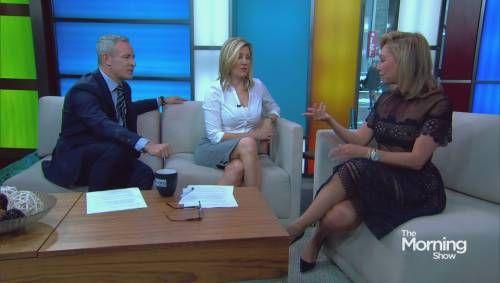 'Dancing With The Stars' alum Kym Johnson talks fitness on Global News in Toronto, Canada.