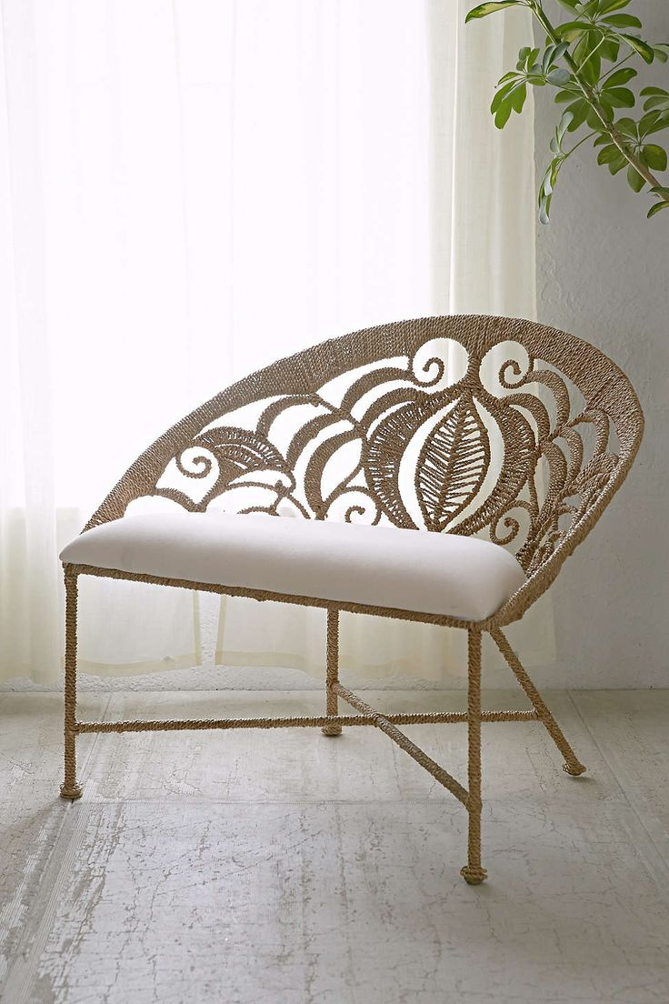 Rope Lace Tiara Chair Spaces House And Cottage Decorating