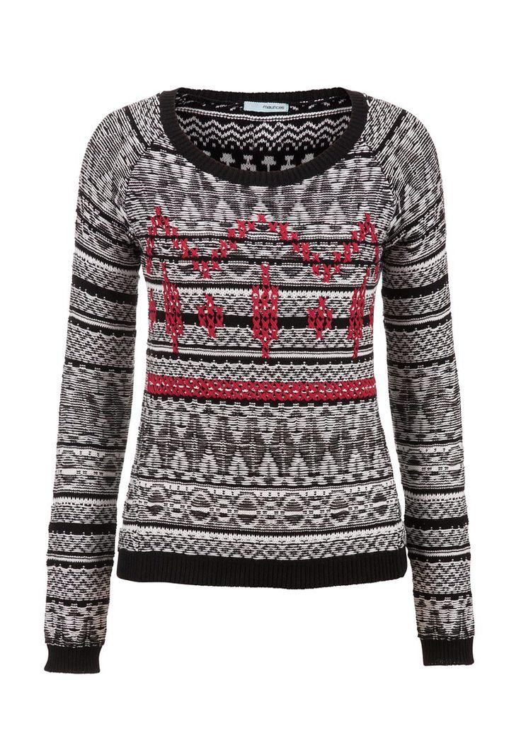 ul><b>Overview</b><li>Fair isle knit pattern</li><li>cozy sweater ...