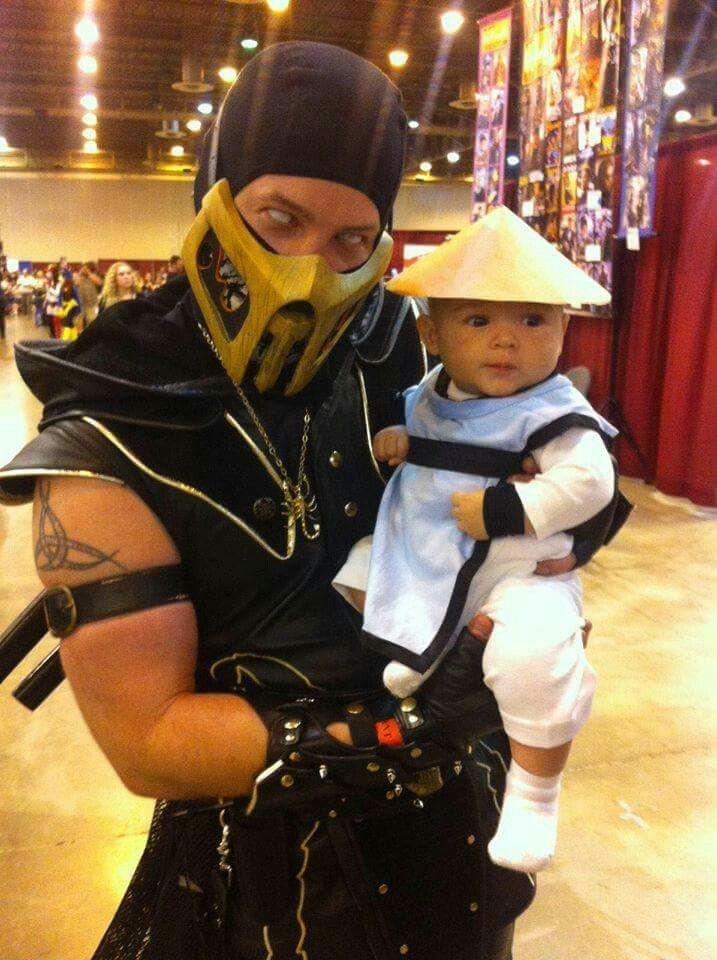 Mortal kombat baby cosplay!!!!!