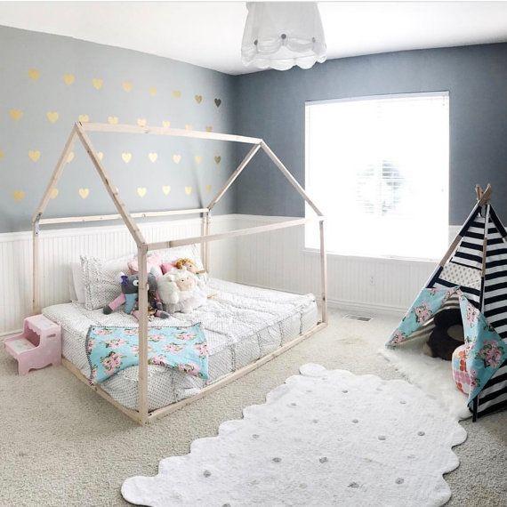 Superior Full Size Floor Bed Part - 4: Best 25+ Floor Bed Frame Ideas On Pinterest | Toddler Floor Bed, Toddler Bed  Frame And Toddler Bed