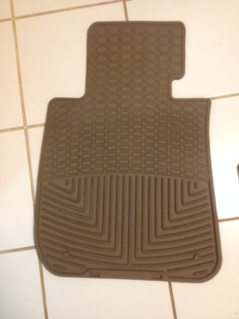 BMW WeatherTech Floor Mats in Becky35054's Garage Sale in Cropwell , AL for $65.00. BMW WeatherTech Floor Mats - full front/back set - Tan fits 2[Phone Number removed] BMW 3,5 & 7 series