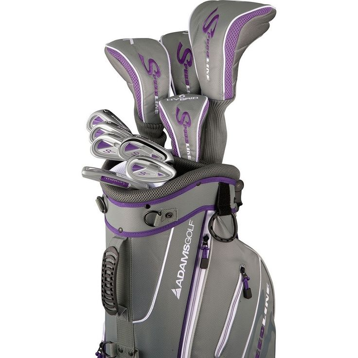 Adams Golf Women's Speedline Complete Set Golf Clubs With Bag | Overstock™ Shopping - Top Rated Adams Bag & Club Sets