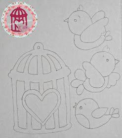 Cantinho arts da Mari  like the birds                                                                                                                                                 Mais