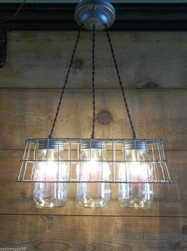Brilliant mason jar hacks mason jar light fixturemason jar lampblue