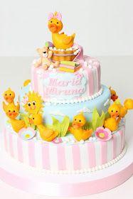 Torturi - Viorica's cakes: Tort botez Ratusca cea frumoasa