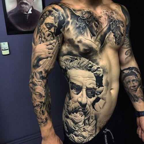 Greek god boy blackwork tattoo tats pinterest boys for God s son tattoo