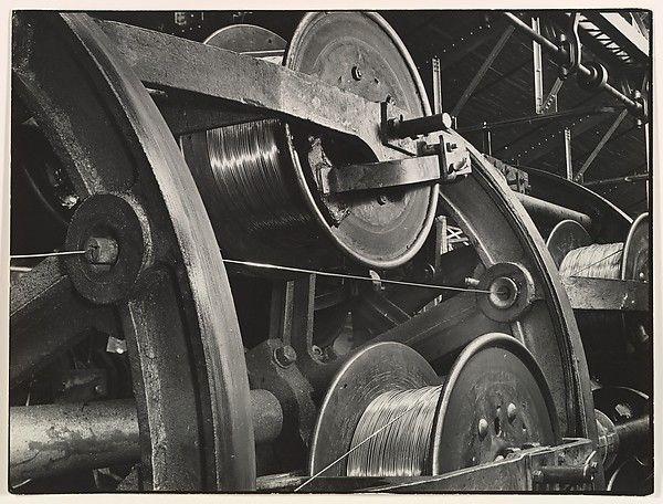 Margaret Bourke-White | Stranding Machine, Aluminum Company of America |1940 |Gelatin silver print | 10 1/8 × 13 1/2 in. (25.7 × 34.3 cm)
