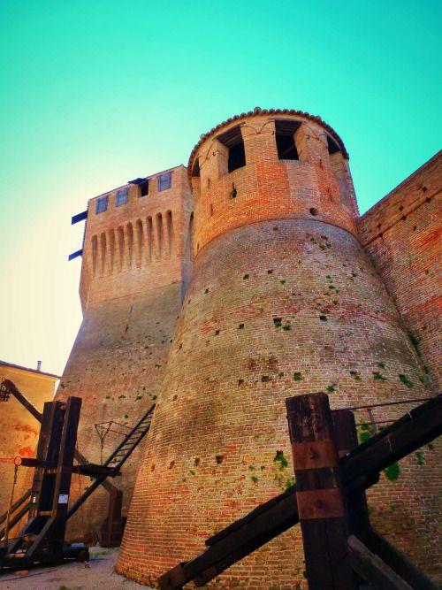 Marche - Mondavio's castle