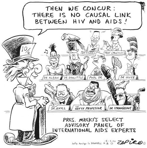 000316mg - President Mbeki's Select Advisory Panel of International Aids Experts