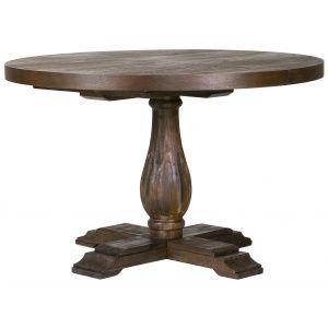 Lamier runt matbord i Acacia - 120/170cm i diameter, 6495, Sv Möbelhuset