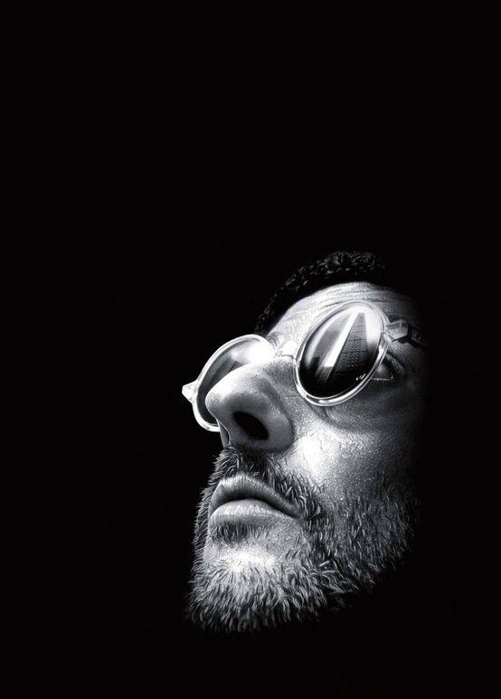 Jean Reno in The Professional (or Léon), 1994.