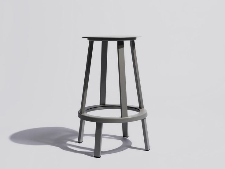 The Hay Revolver stool allows the seat to turn 360° with the footrest, ideally suited to both contract and residential use.