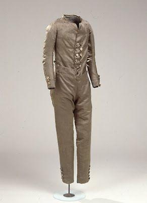 The Oregon Regency Society ~ Northwest Chapter: Costume for a Regency child.