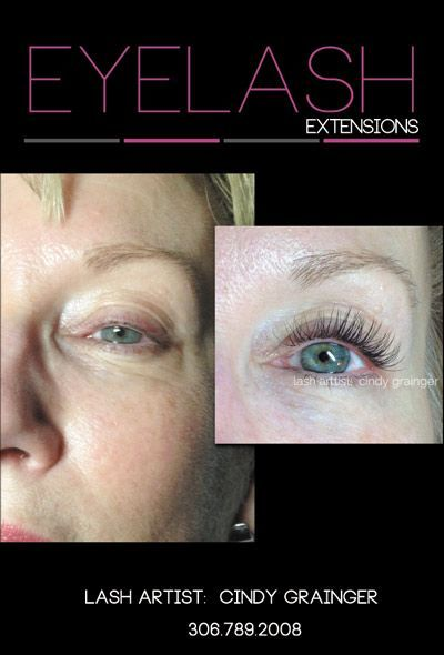 b91c38d92ff Joni before and after eyelash extensions. Joni is off to Hawaii and ...