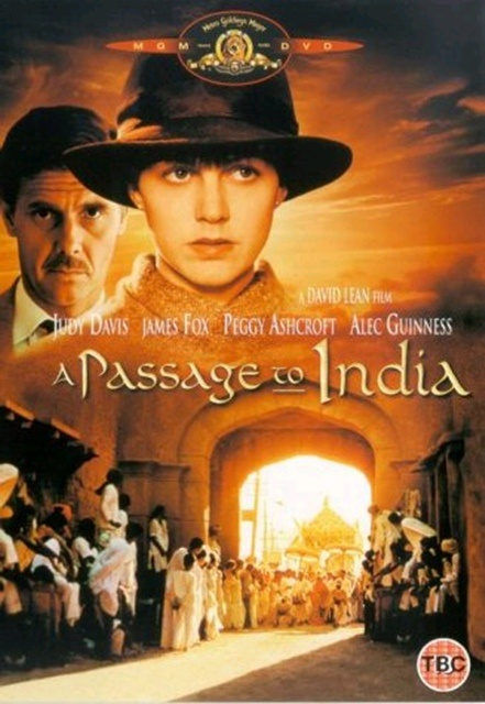 """A PASSAGE TO INDIA"" (1984) Director: David Lean.Cultural mistrust and false accusations doom a friendship in British colonial India between an Indian doctor, an Englishwoman engaged to marry a city magistrate, and an English educator.Stars: Judy Davis, Victor Banerjee and Peggy Ashcroft"