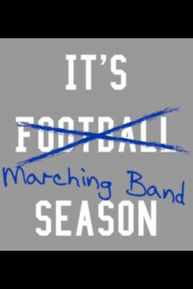 I have four years experience on flute/piccolo with having spent half a season in the front ensemble due to tearing a tendon. This year I am on trombone for ASU and I can't wait! It's Marching Band Season! Bring on the jokes, field, and those Stadium Lights!