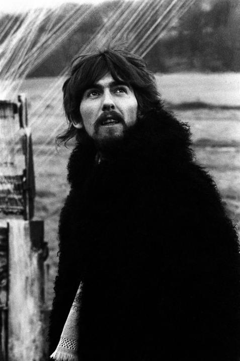 """George in the """"Strawberry Fields Forever"""" promotional film - The Beatles"""