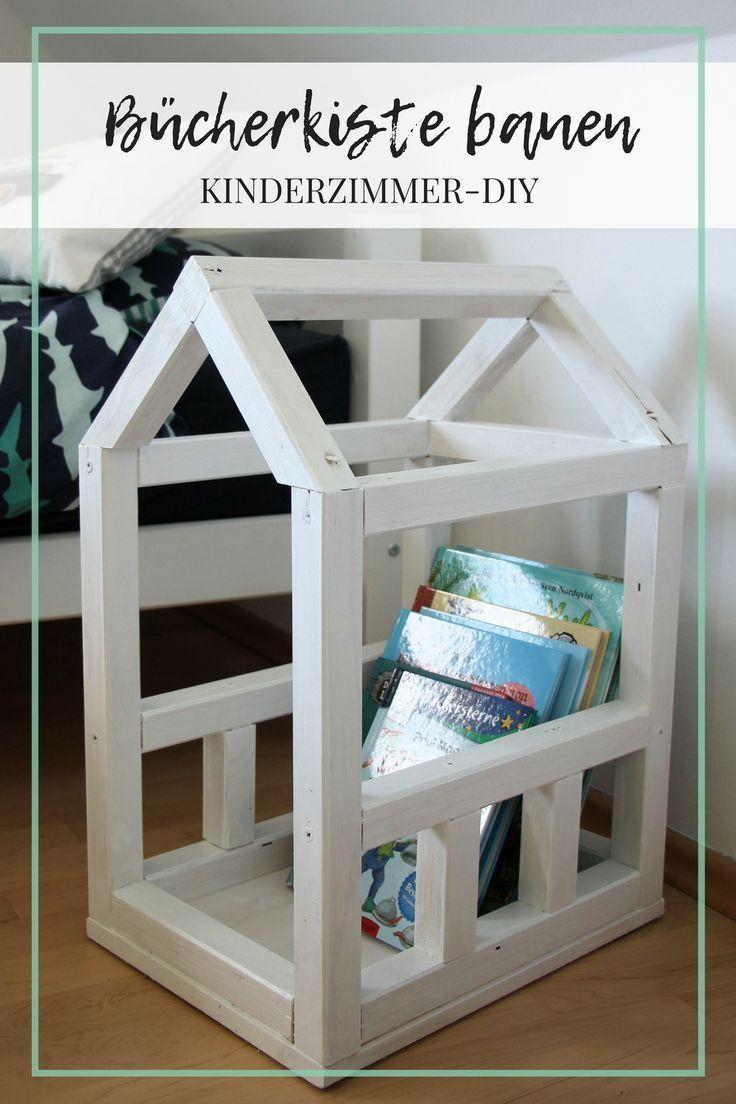 Bücherkiste Kinderzimmer | Kinderzimmer Diy Bucherkiste Selber Bauen Diy Im Kinderzimmer