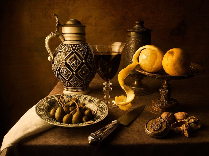 Dutch Still Life (after Pieter Claesz) | Flickr - Photo Sharing!