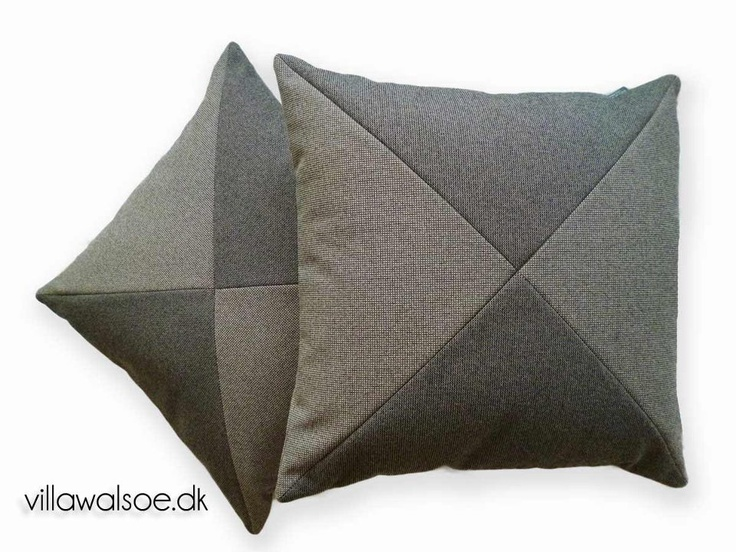 New Cushions. graphic design, luxurius trevira fabric at. http://villawalsoe.dk