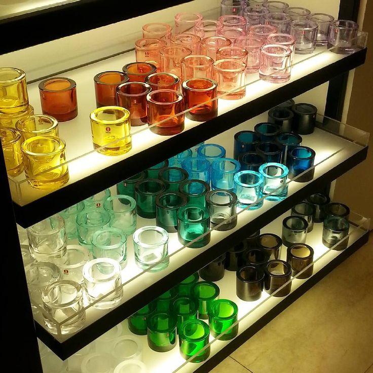 My Iittala moment last week. ♡♥♡♥ @iittala #iittala #glass #iittalaglass #kivi #iittalakivi #design #designer #heikkiorvola #finnishdesign    #veryfinnishthing @marimekkodesignhouse