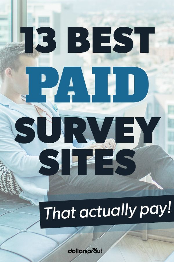 12 Best Places To Take Paid Online Surveys Up To 50 Hr Online