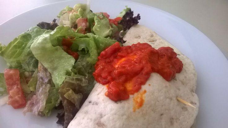 Winny, wat eten we vandaag?: Burrito met gebakken ei