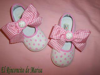 EL RINCONCITO DE MARISA: Otro conjunto de vestido y zapatillas