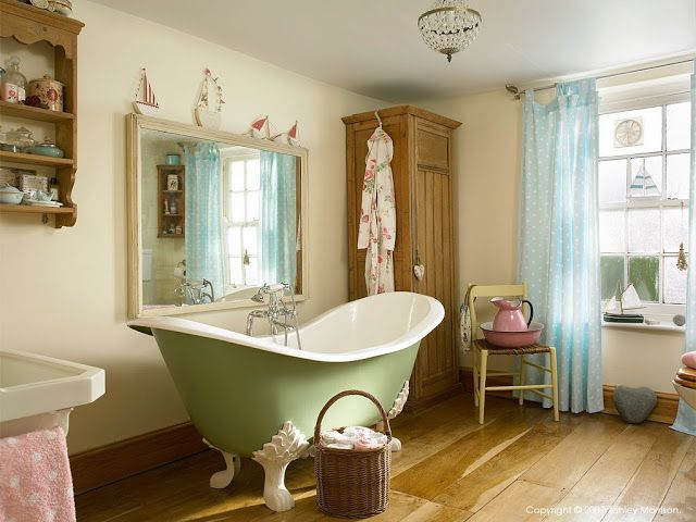 1000 Images About Romantic Bathrooms On Pinterest Shabby Chic