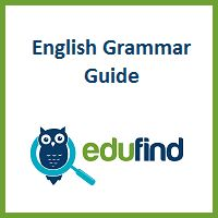 Do you have a question about the correct usage of the semicolon or how to place adverbs in a sentence? If so, you've come to the right place. Edufind.com is a complete English grammar guide filled with the rules of English usage. Each grammatical rule is explained in plain English with several examples, and when needed, counter-examples. The grammatical rules covered by this guide are categorized below. English grammar is not always easy to understand, but by using this guide you should be…