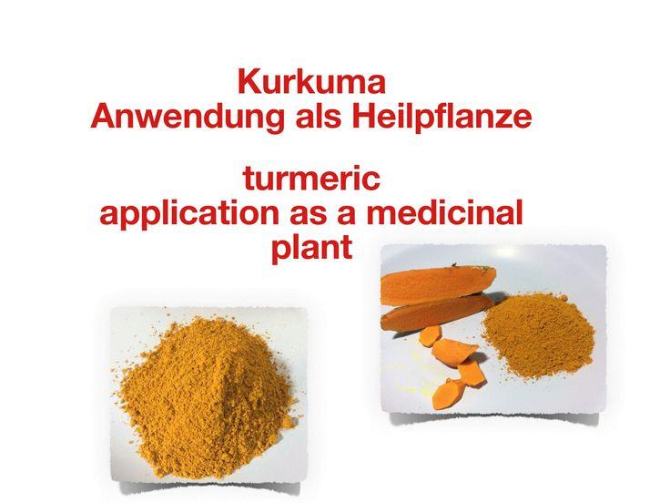 Kurkuma - Anwendung als Heilpflanze