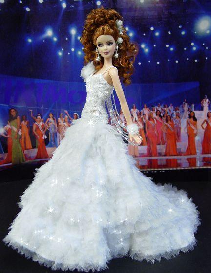 OOAK Barbie NiniMomo's Miss Wisconsin 2009