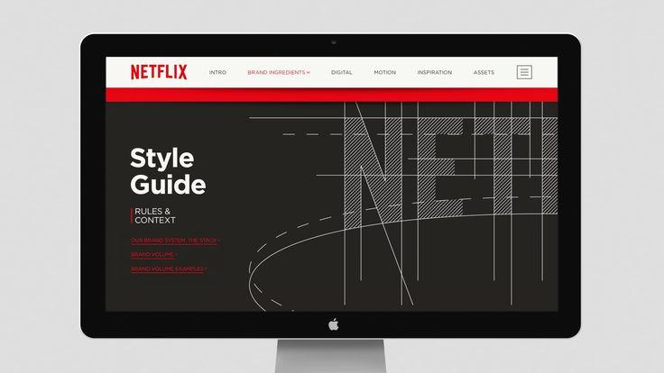 Netflix Branding: Brand Hub
