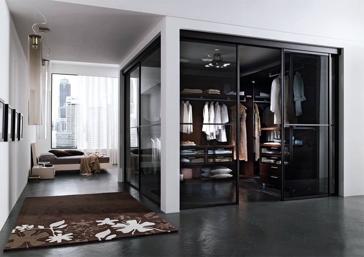 Looks like a perfect bedroom with a view & walk-in closet :)