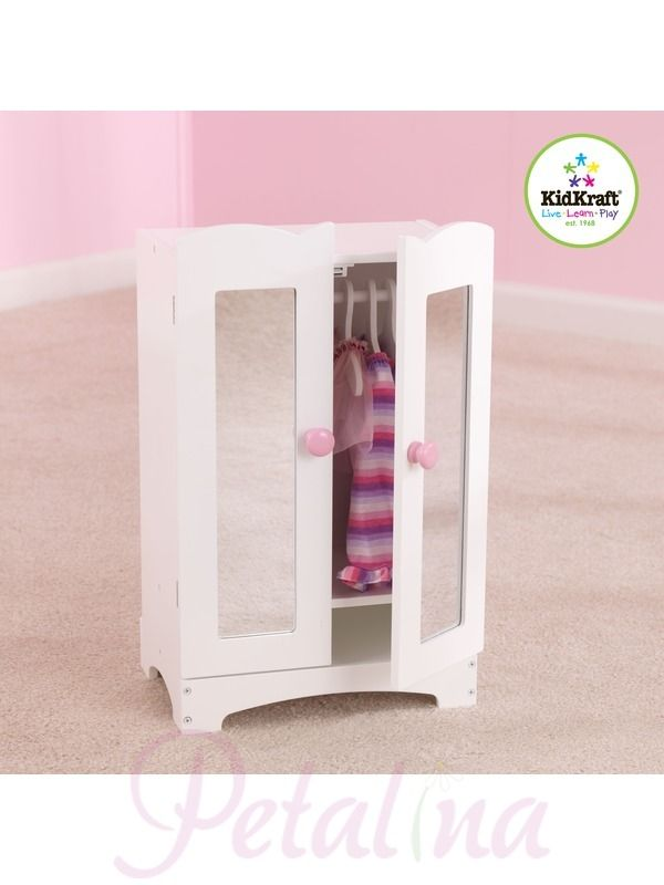 Kidkraft Lilu0027 Doll Wardrobe   Petalina  The Wardrobe Has Been Made Using  MDF And
