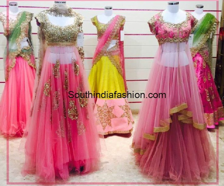 These lehengas remind  me of the It's A Small World India doll (Disney Animators Collection)