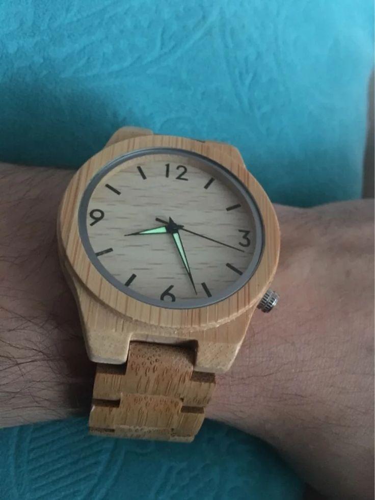 Bobo bird d27 bambu relógio de madeira para os homens único lug design Top Marca de Luxo Relógio De Quartzo De Madeira Banda Noite Verde Ponteiro Relógios de Pulso Loja Online | aliexpress móvel