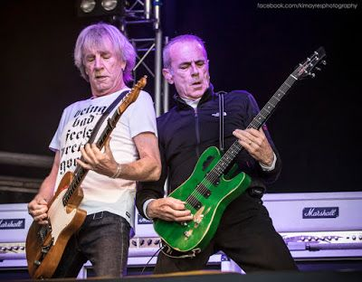 Status Quo at Palmerston Park, Dumfries. For more about this image, click through to my blog post: http://kimayres.blogspot.co.uk/2015/06/status-quo-live-in-dumfries.html