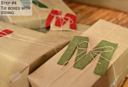 Cute way to wrap your gifts this year!