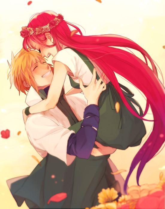 Kushina and Minato, Naruto