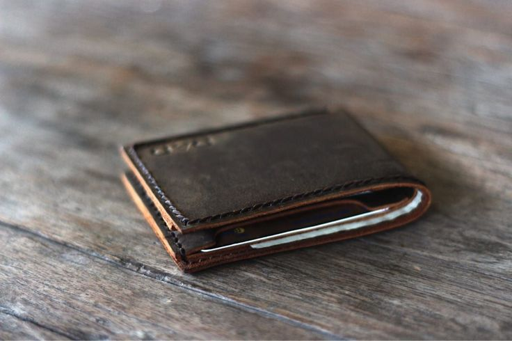 Leather Bifold Wallet | Handmade Personalized Gift Ideas